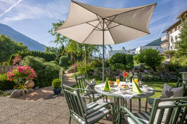 Short Stay Holiday at the Landhaus Zillertal during Summer